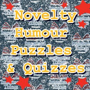 Novelty, Humour, Puzzles & Quizzes