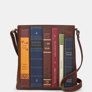 Bookish Leather Bags, Wallets and Keychains